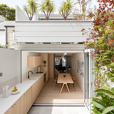 Rennovate Exterior With Garden On Top